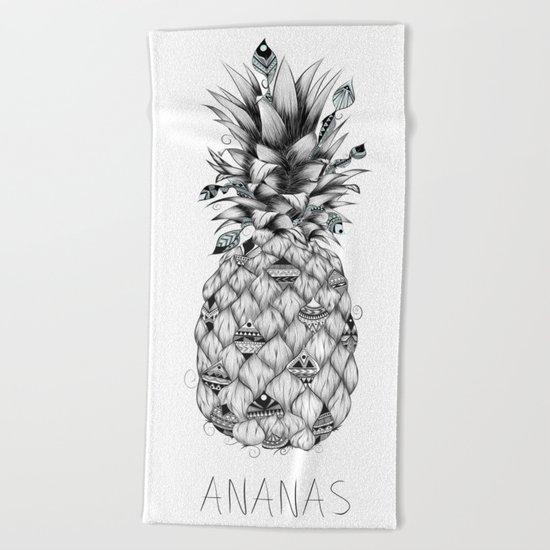 Ananas Beach Towel