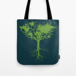 Earth Tree Tote Bag