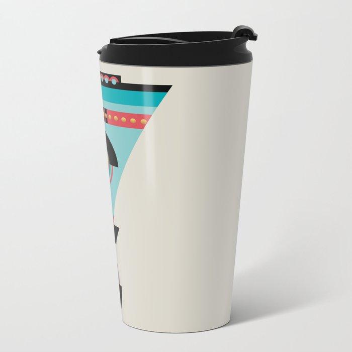 Cleopatra Metal Travel Mug