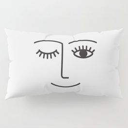 Wink Pillow Sham