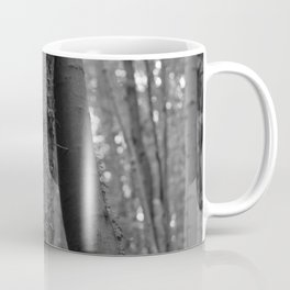 Old love, black and white photography trees Coffee Mug