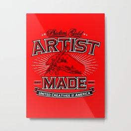Artist Made Metal Print
