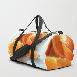 Orange Quarters Duffle Bag
