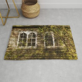 Overgrown Windows Rug