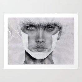 NATALIA  Art Print