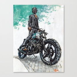 The Racer Canvas Print