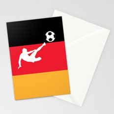 Fifa world cup 2014 Germany Flag Stationery Cards