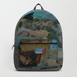 The Impressionists No. 4 COL140215d Backpack