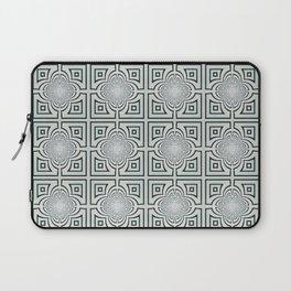 Grey And Black Geometric Design Laptop Sleeve