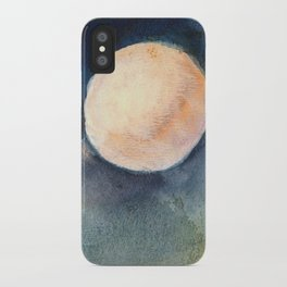 Moon Drops on Sacred Ground iPhone Case