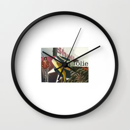 La Folie Wall Clock