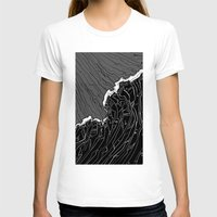 wave T-shirts featuring Wave by Tim Bywater