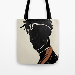Black Hair No. 2 Tote Bag