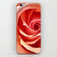 aperture iPhone & iPod Skins featuring Rose Aperture by Lita Mikrut