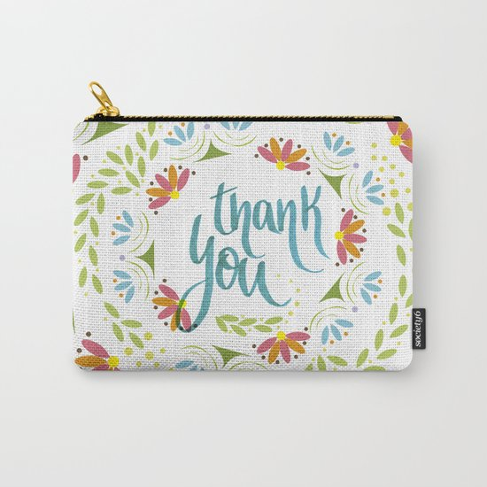 Thank you! Carry-All Pouch