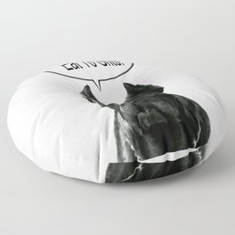 Riggo Monti Design #18 - Eat Yo Grits! Floor Pillow