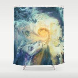 Introspective vision Shower Curtain