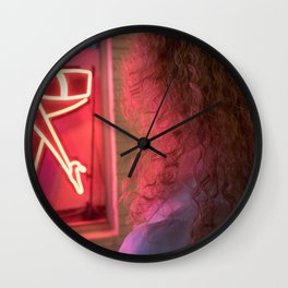 Miami Legs Wall Clock