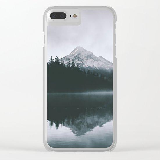 Mount Hood VIII Clear iPhone Case
