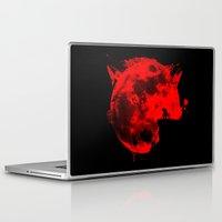 werewolf Laptop & iPad Skins featuring Werewolf by Badamg