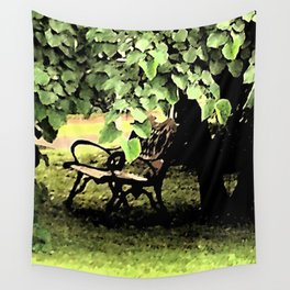 A Place to Ponder Wall Tapestry