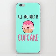 Cupcake is LIFE iPhone & iPod Skin