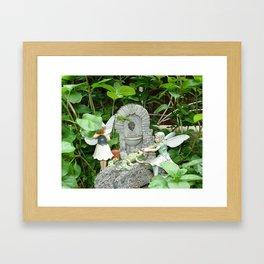 garden paradise photos Framed Art Print