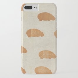 hippo iPhone Case