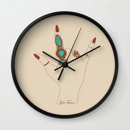 Love Language Wall Clock