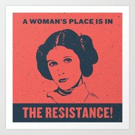 A Woman's Place Art Print
