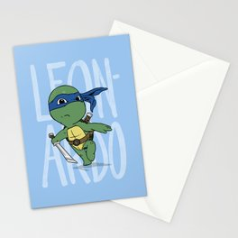 TMNT: Leonardo (Cute & Dangerous) Stationery Cards