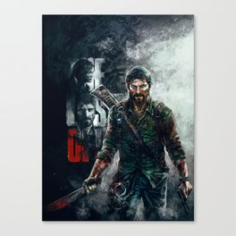 Joel - The Last of Us Canvas Print
