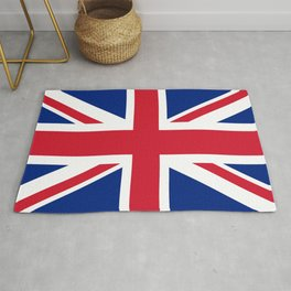 UK FLAG - Union Jack Authentic color and 3:5 scale  Rug