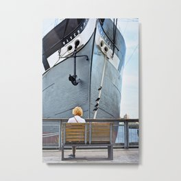 Waiting for Adventure Metal Print