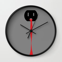 bloodlet Wall Clock