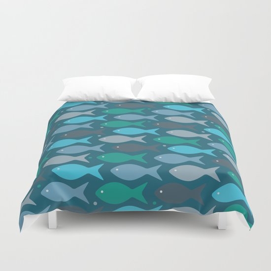 fish pattern  Duvet Cover