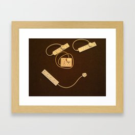 Personification of the norm Framed Art Print