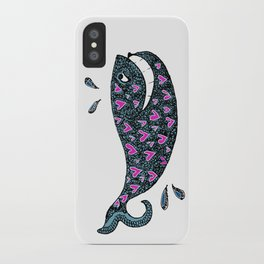 Whale Love iPhone Case