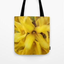 Yellow Explosion Tote Bag