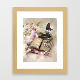 little pieces of me Framed Art Print