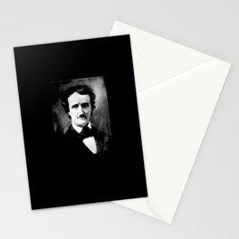 Portrait of Edgar Allan Poe 2 Stationery Cards