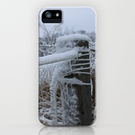 Iced Over iPhone Case