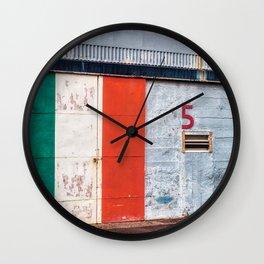 Garage Number 5 Wall Clock