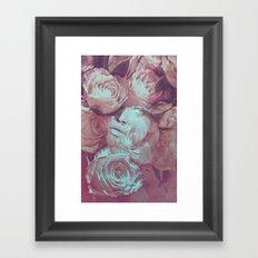 Rose's Eye Framed Art Print