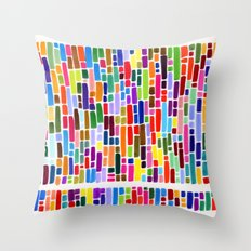 New Markers Throw Pillow