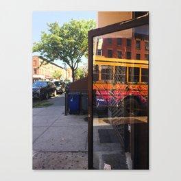 Brooklyn Reflection Canvas Print