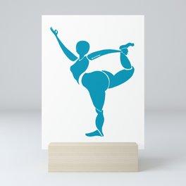 Natarajasana - Lord of the Dance Pose Mini Art Print