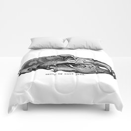 Cave Bear Skull Comforters