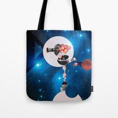 Space Flight Tote Bag
