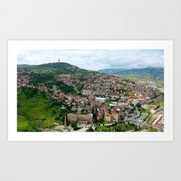 Bosnian Mountains Art Print